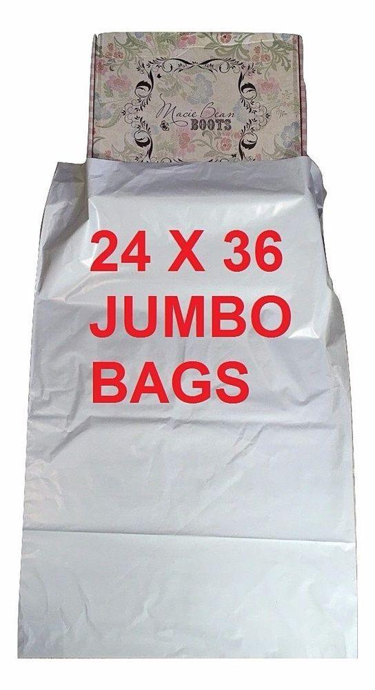 801b3474a5 15 Bags - 24 x 36 Jumbo Self Seal Poly Bag Mailers  UnbrandedGeneric