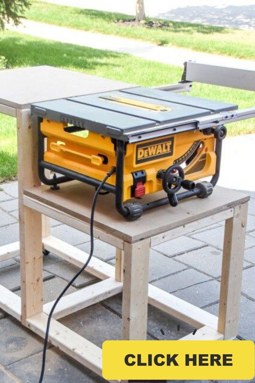 Best hybrid table saw dewalt table saw for jobsite in