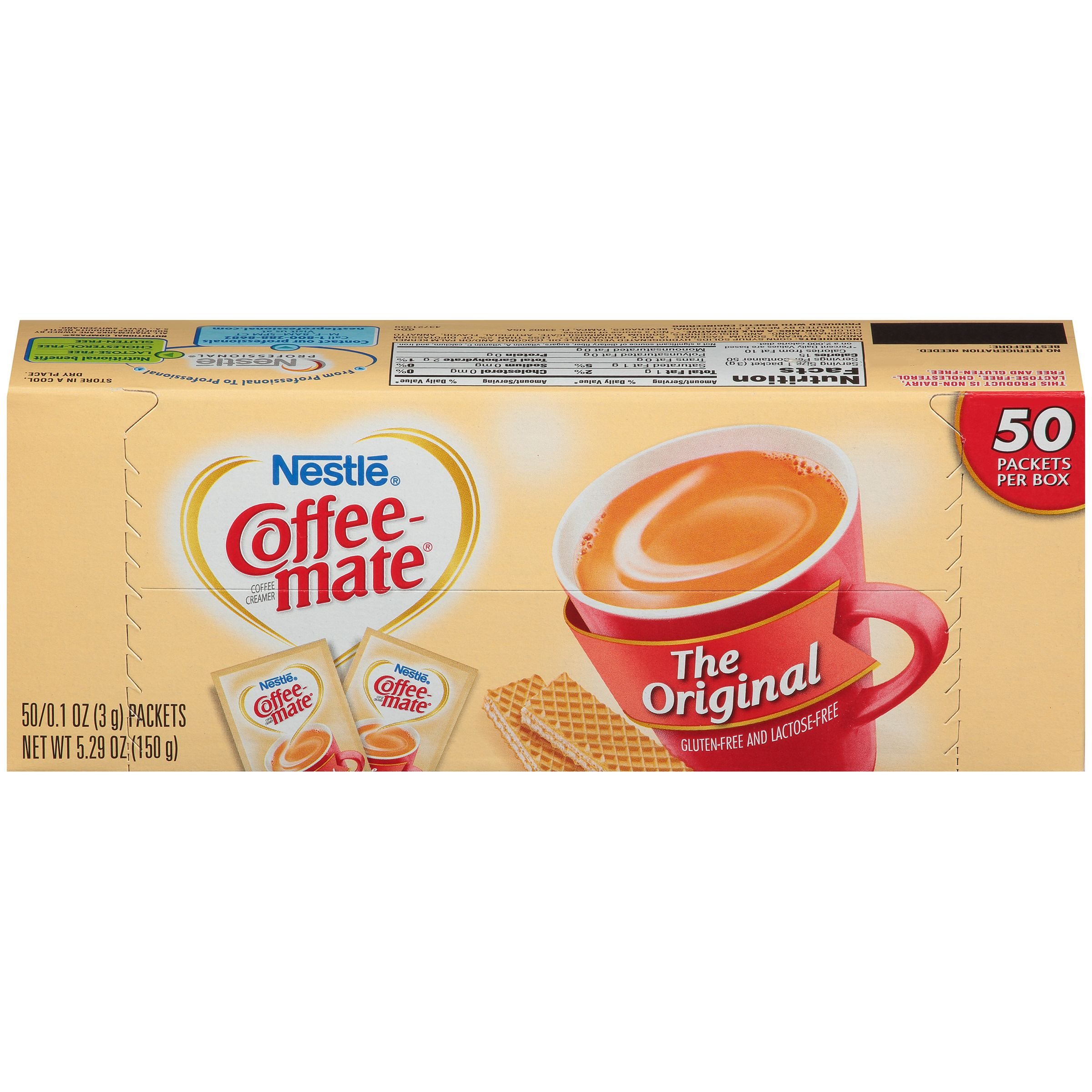 Coffee Mate Creamer Packet Nutrition di 2020