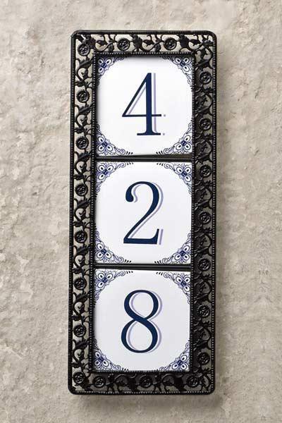 Ceramic House Numbers Ceramic House Numbers House Numbers Diy House Numbers
