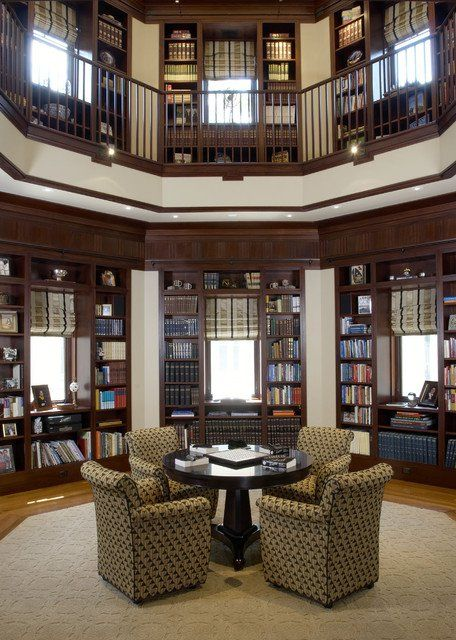 15 fantastic designs of home library for all book lovers house rh pinterest com