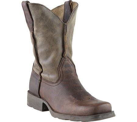 Ariat: Rambler Kids (Earth/Brown Bomber) Western boot for kids ...