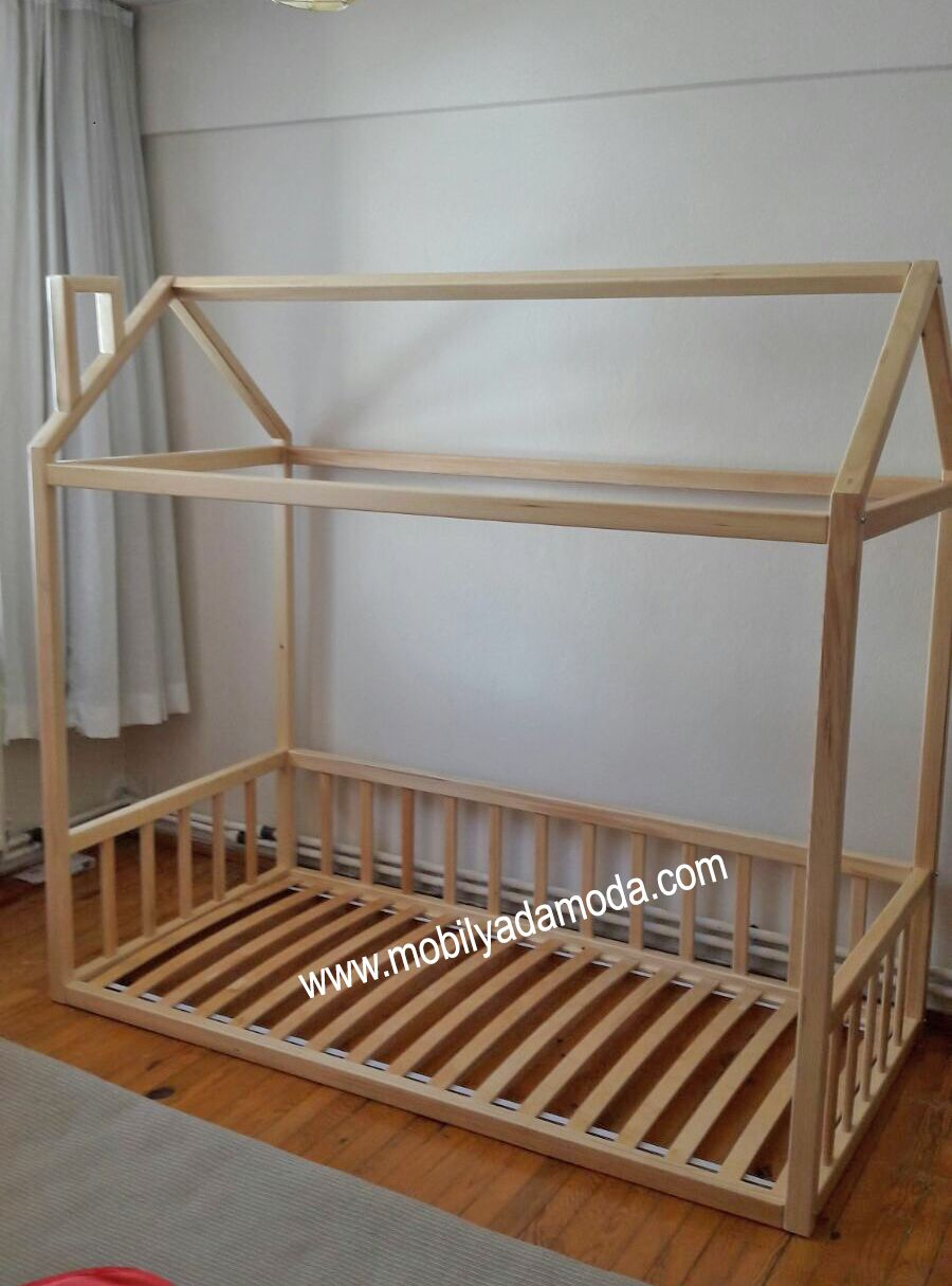 Montessori yer yata naturel 90x190 quarto mi das for Montessori kinderzimmer