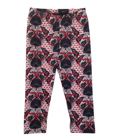 Another great find on #zulily! Pink Pug Leggings - Infant, Toddler & Girls #zulilyfinds