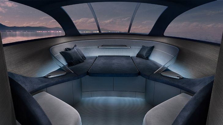 Design Of The First Superyacht By Mercedes Benz Revealed Design