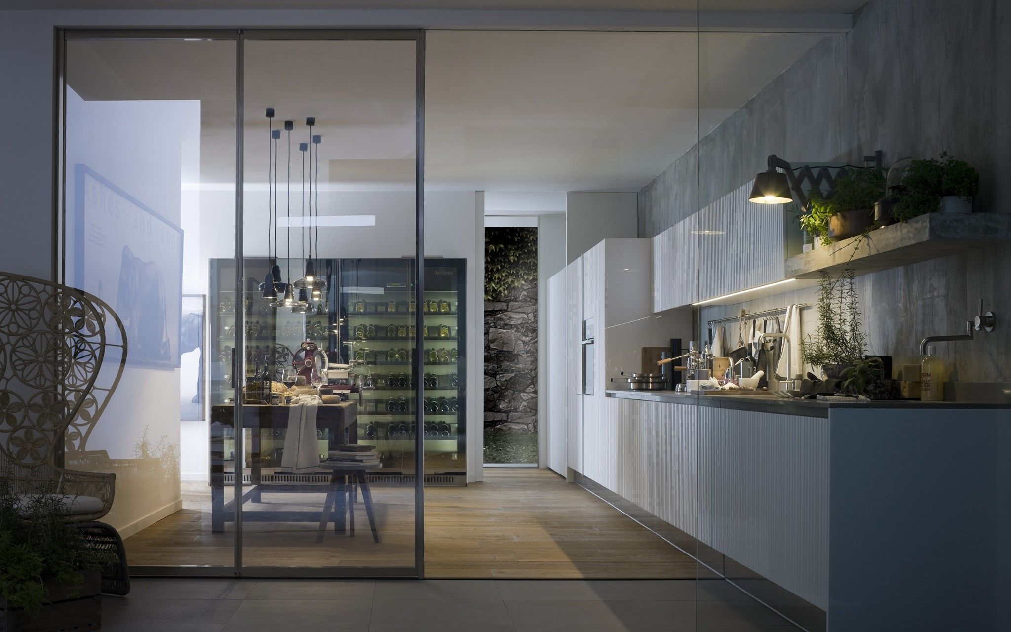 Gamma Kamerscherm The Gamma Professional Kitchen By Arclinea From Pure Interiors