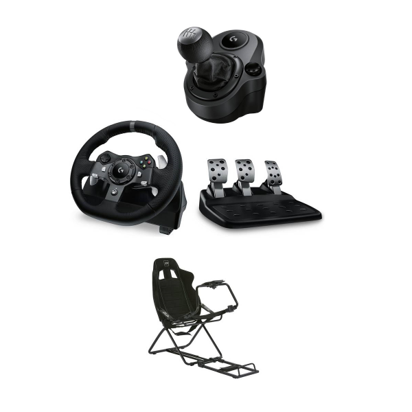 Logitech G920 Logitech Shifter Controller X Rocker Xr Circuit Racing Gaming Chair 259 99 Argos Logitech Racing Games Racing Circuit