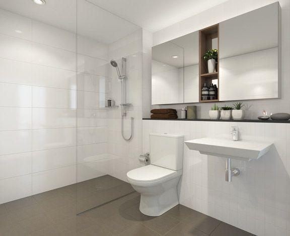 Frameless Shower Screen Tiling Around Toilet Base