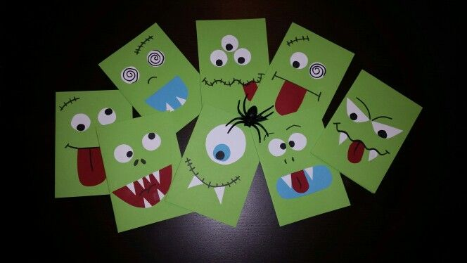 monster geburtstagskarten einladungskarten kinder. Black Bedroom Furniture Sets. Home Design Ideas