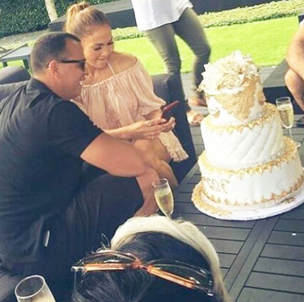 'More Cake!' Alex Rodriguez And His Daughters Surprise