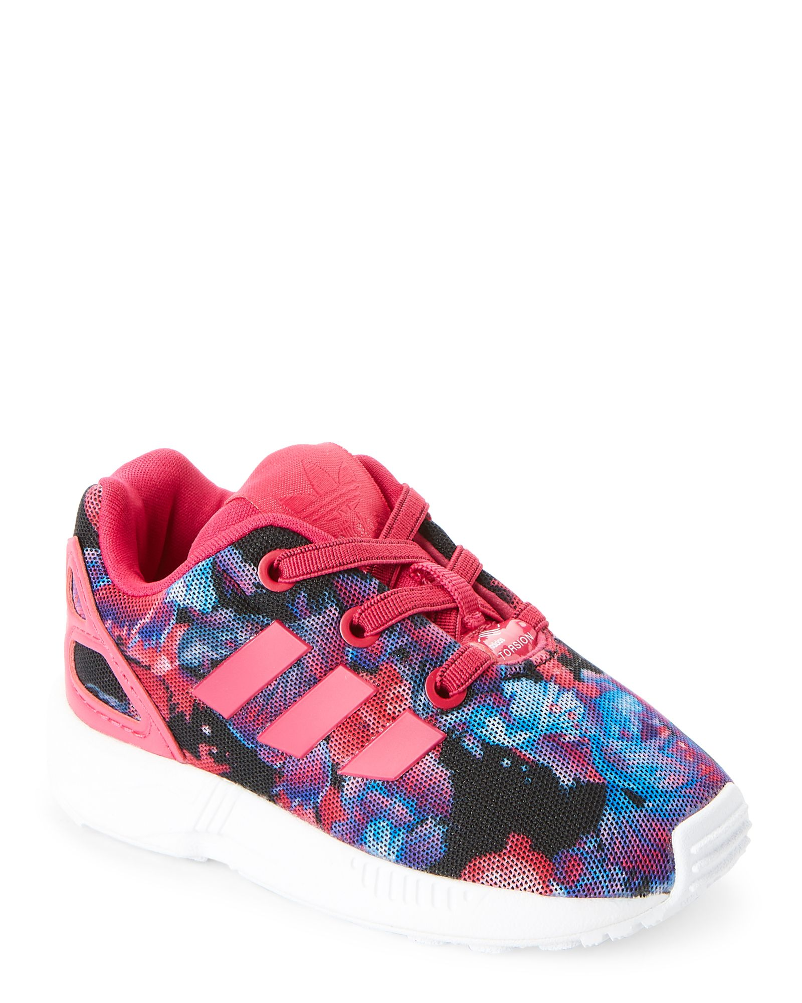 9ec7fd66a8c18 Adidas (Toddler Girls) Bo Pink ZX Flux Sneakers