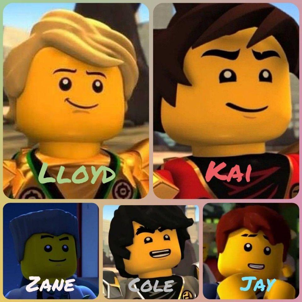 Ninjago Lloyd Kai Cole Jay And Zane Edit By Me Lego Ninjago Lloyd Ninjago Ninjago