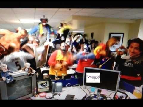 The Yahoo! Sports staff does the HarlemShake. Enjoy.