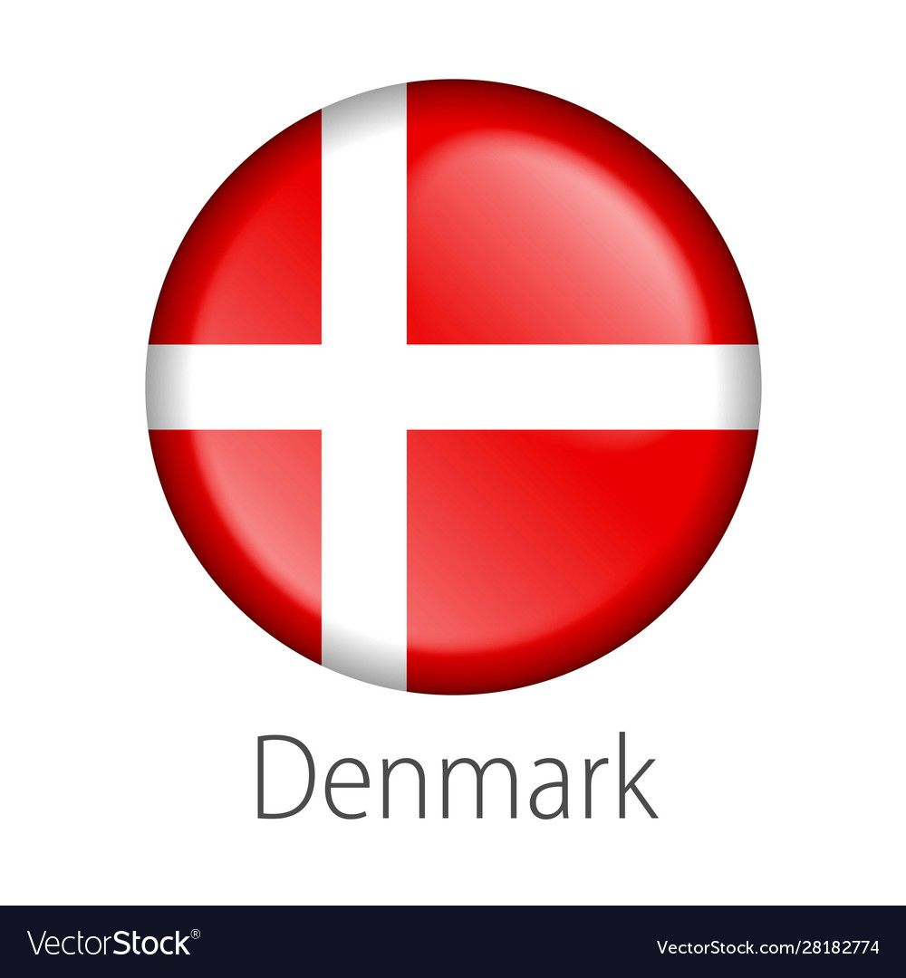 Denmark Round Button Flag Royalty Free Vector Image Aff Flag Button Denmark Royalty Ad In 2020 Packaging Template Design Vector Background Pattern Pen Icon