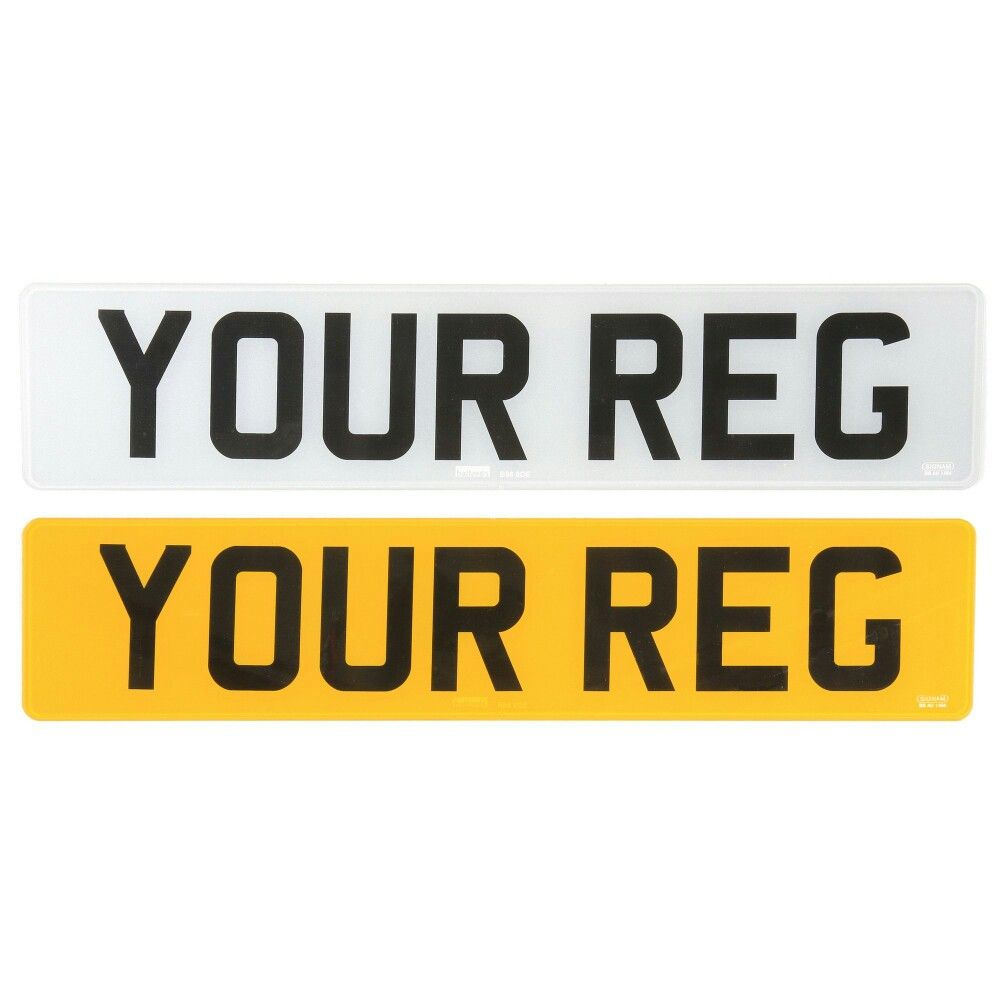 Number Plates For £11.95. Pop Into Exeter Or Newton Abbot
