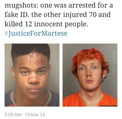 NIGERIAN TOP SECRET: Mugshots that show how US police handle black and ...