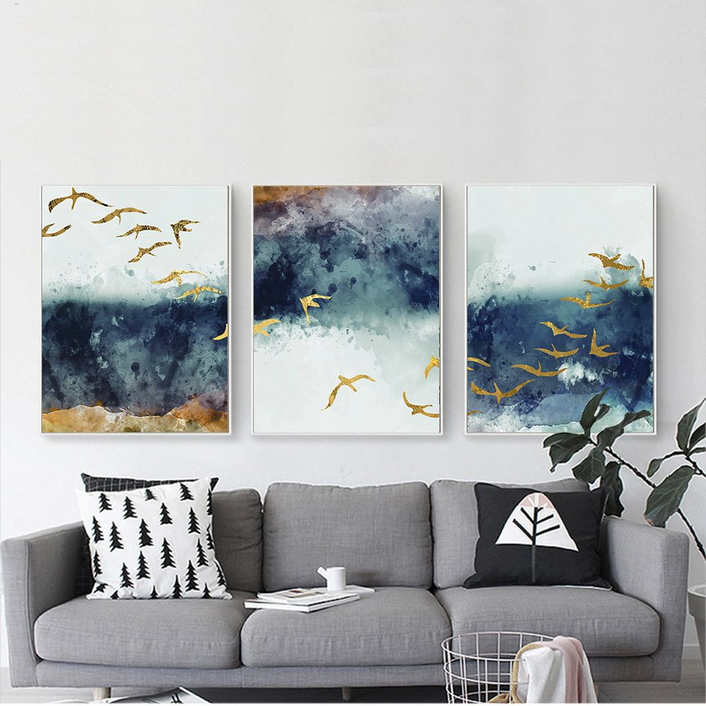Abstract Poster Prints Canvas Painting Wall Art Canvas Print Pictures Home Decor