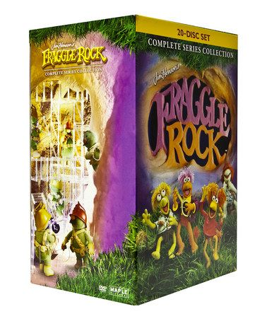 Take a look at this Fraggle Rock The Complete Series DVD Set by iNET on #zulily today! @Wendy Holladay.  Do you already have this??