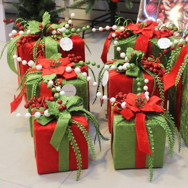 Günstige Weihnachten geschenk beutel Weihnachten baum geschenk box ...
