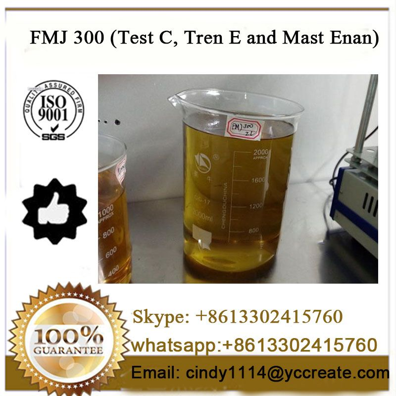 Test C, Tren E and Mast Enan Blend Steroid Oil FMJ 300
