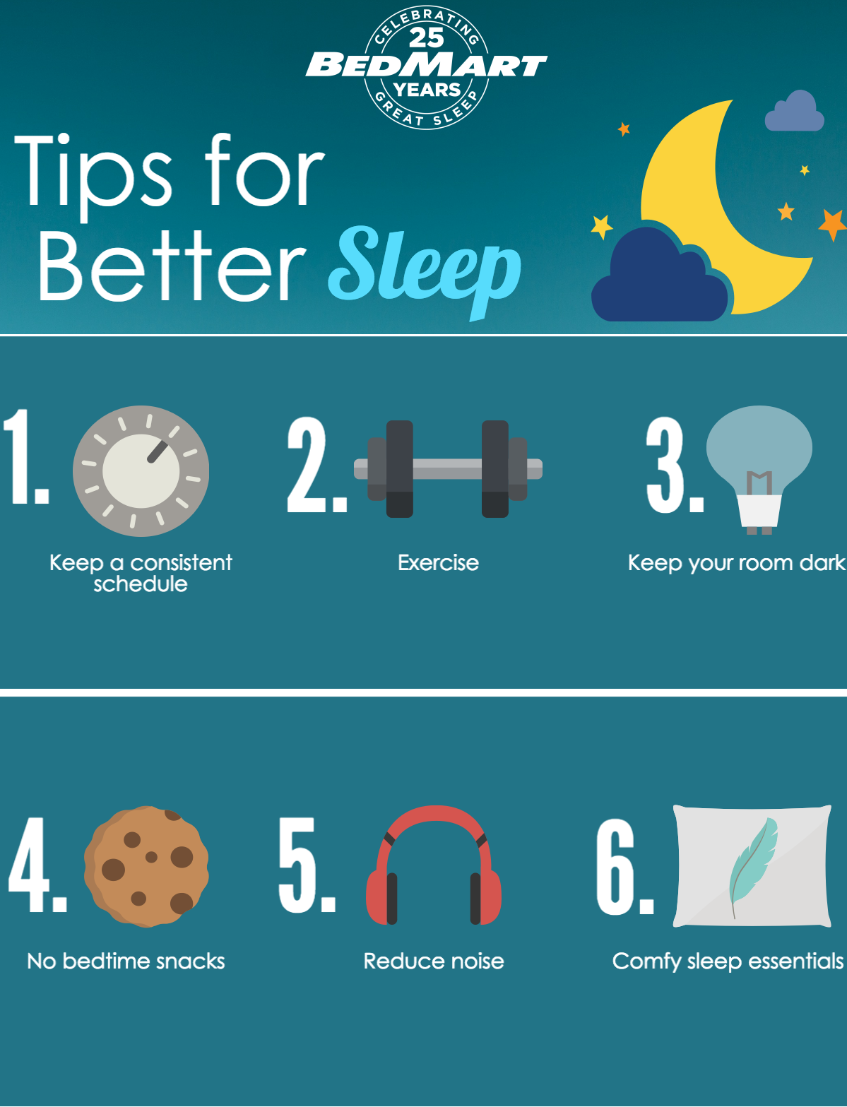 Bed Smart Tips For Better Sleep