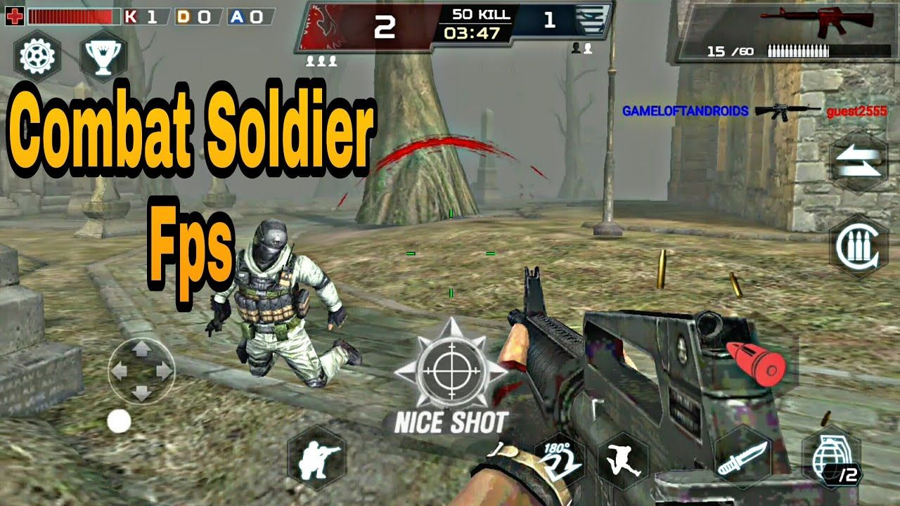 Combat Soldier Fps Mod Apk Data Download With Images Fps