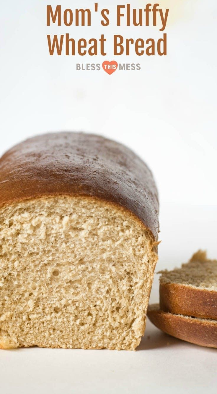 Mom's 4 Loaf Wheat Bread Recipe | How to Make Homemade Bread
