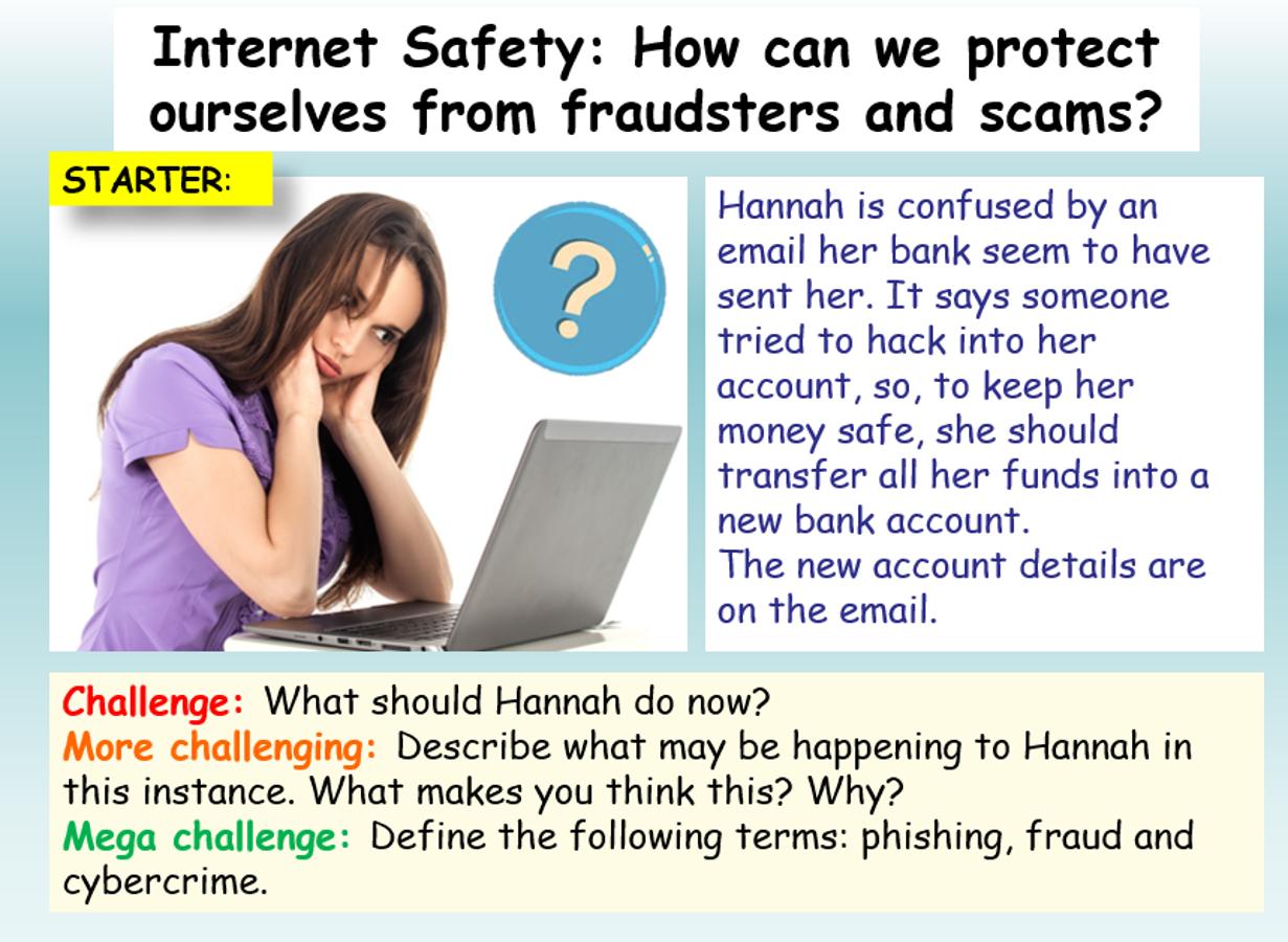 Internet Safety Cyber Crime