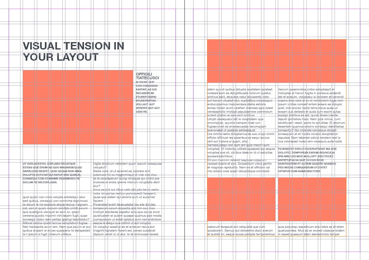 Free Editorial Layouts [InDesign] | typography/posters/grid ...