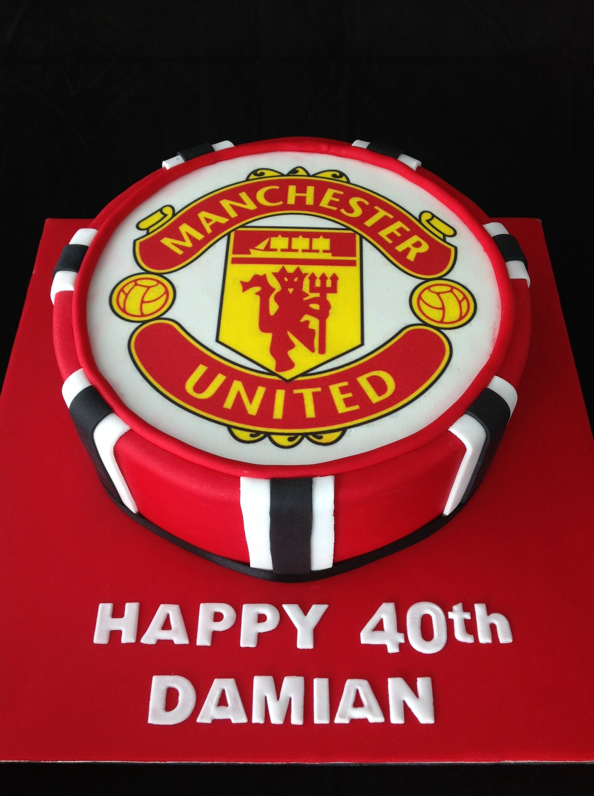 pin by krisandra maynard on my style birthday cakes for men manchester united cake new birthday cake birthday cakes