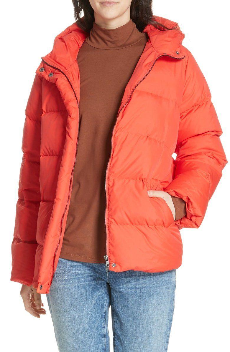 Eileen Fisher Hooded Down Jacket Regular Petite Nordstrom Down Jacket Coats Jackets Women Coats For Women [ 1196 x 780 Pixel ]