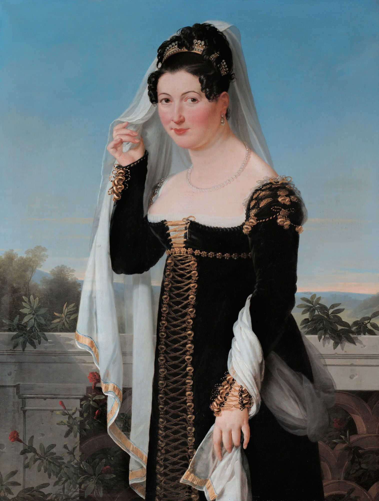 Presumed Portrait Adelheid Von Anhalt Bernburg Duchess Of Oldenburg
