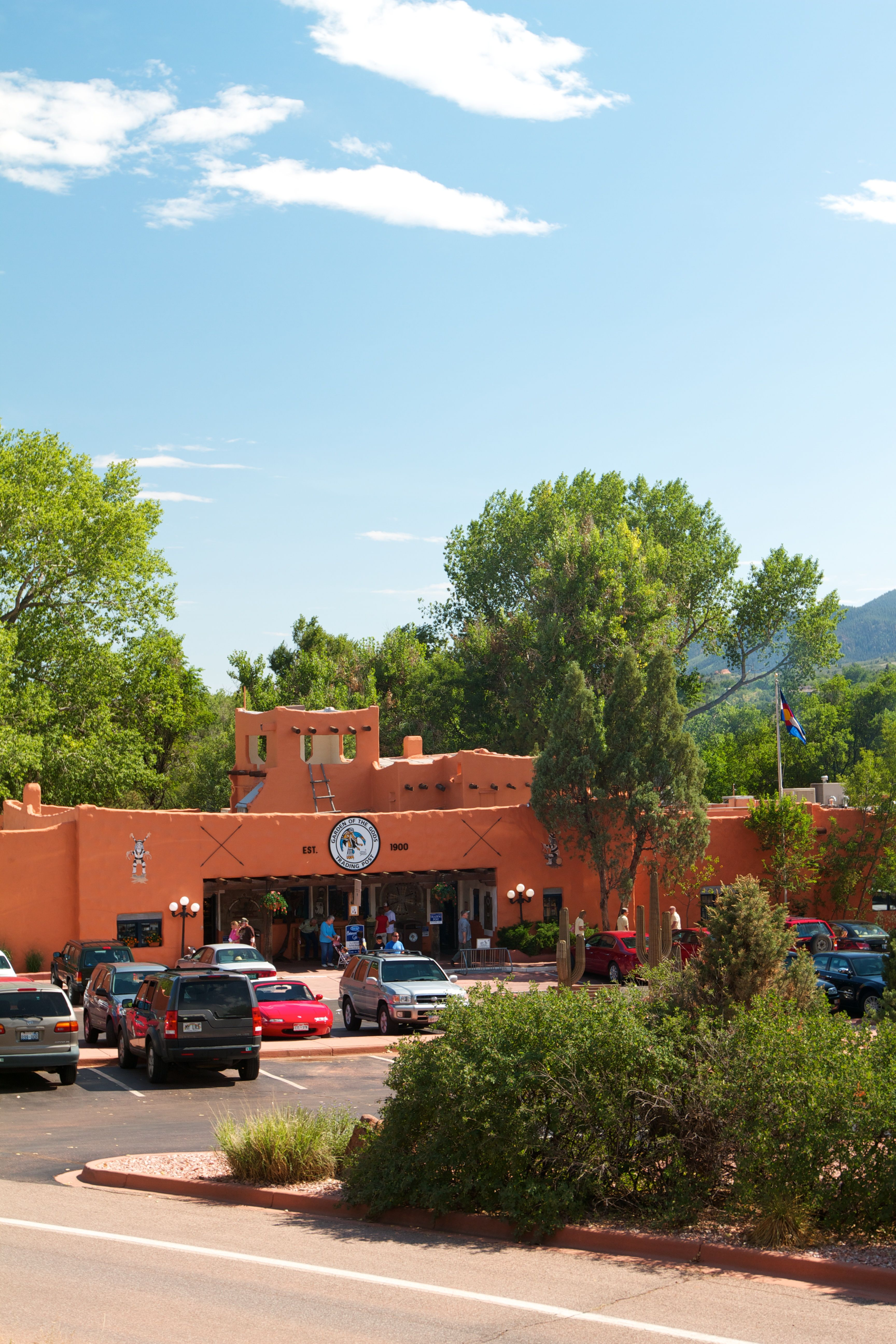 balanced rock cafe at garden of the gods trading post has some of the best sweet potato fries - Garden Of The Gods Trading Post