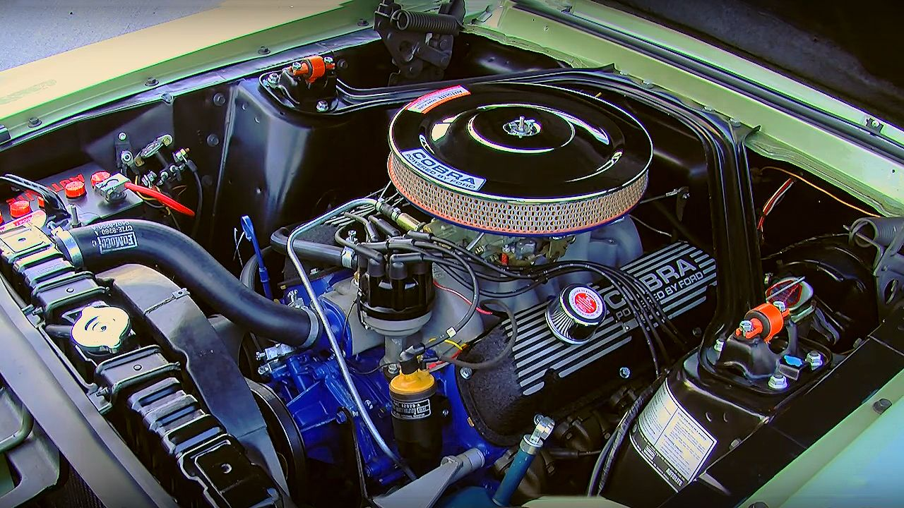 Beautiful Light Green Metallic 1967 Shelby Gt350 Shelby Light Green Beautiful Lights