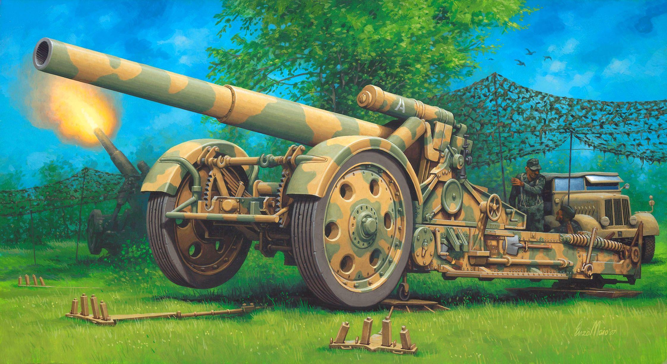 Открытка, прикольные картинки пушки