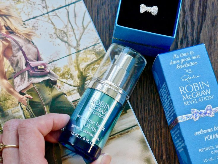 Robin Mcgraw Revelation Welcome Back Youth Retinol Serum 0 3 Robin Mcgraw Revelation Skincare Retinol Serum Skin Care Retinol