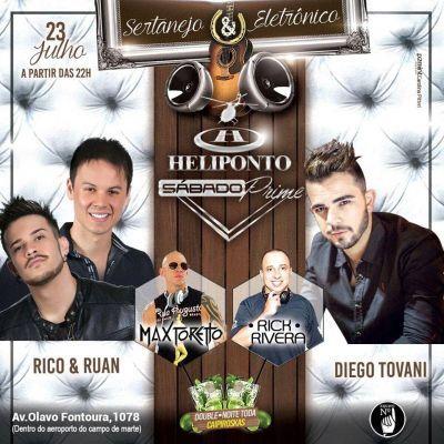 Heliponto Bar | Sertanejo e Eletrônico no Heliponto Coloque seu nome na lista através do link: http://www.baladassp.com.br/balada-sp-evento/Heliponto-Bar/370 Whats: 95167-4133