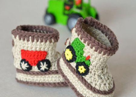 Crochet Baby Booties Pattern Lots of The Sweetest Idea | Crochet ...