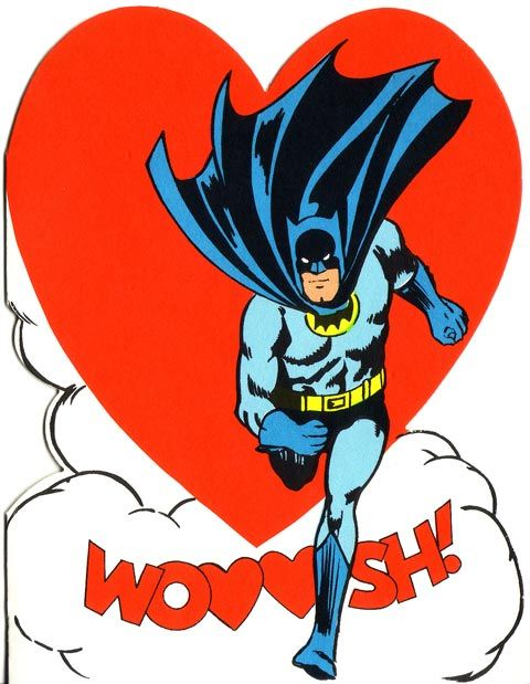 1966 Hallmark Batman Valentines Day Card – Batman Valentines Day Card