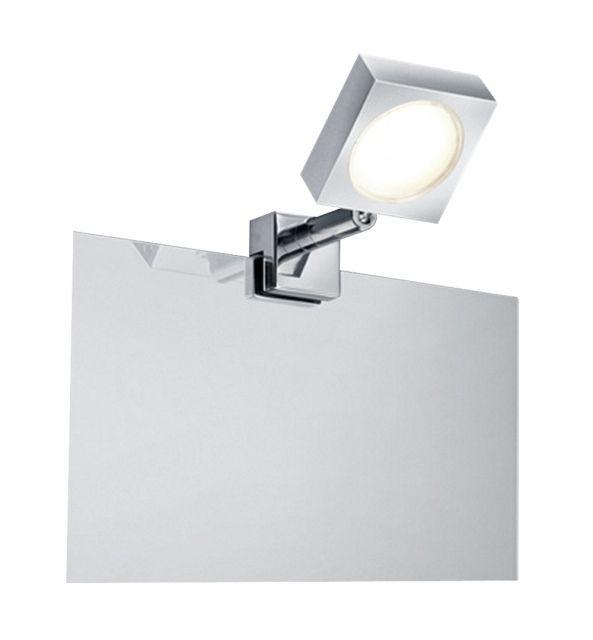 282080106 Trio - kúpeľňové svietidlo na zrkadlo - kov+sklo