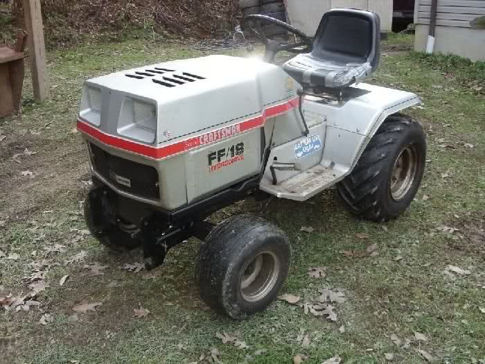 New Ff18 Tractor Mytractorforum Com The Friendliest Tractor Tractors Yard Tractors Garden Tractor