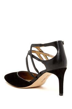 Sam Edelman Orelon Pointy Toe Ankle Strap Pump