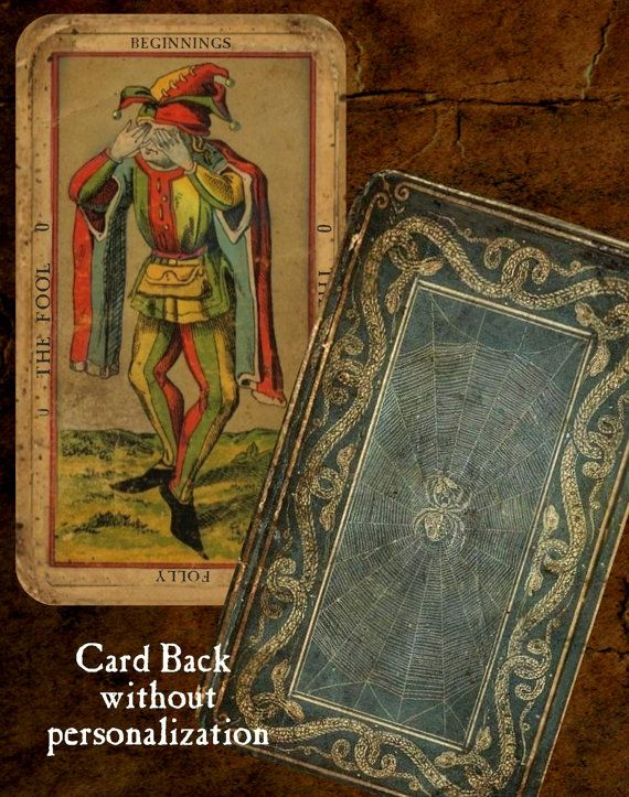 Antique Tarot Card The Fool: The Deck Of The Bastard The Most Unique Vintage By