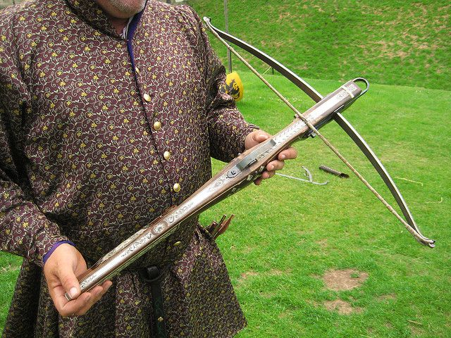 Authentic Medieval Crossbow
