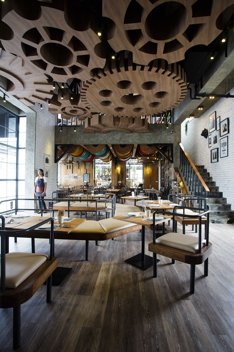 restaurants with striking ceiling designs | bangkok, restaurants