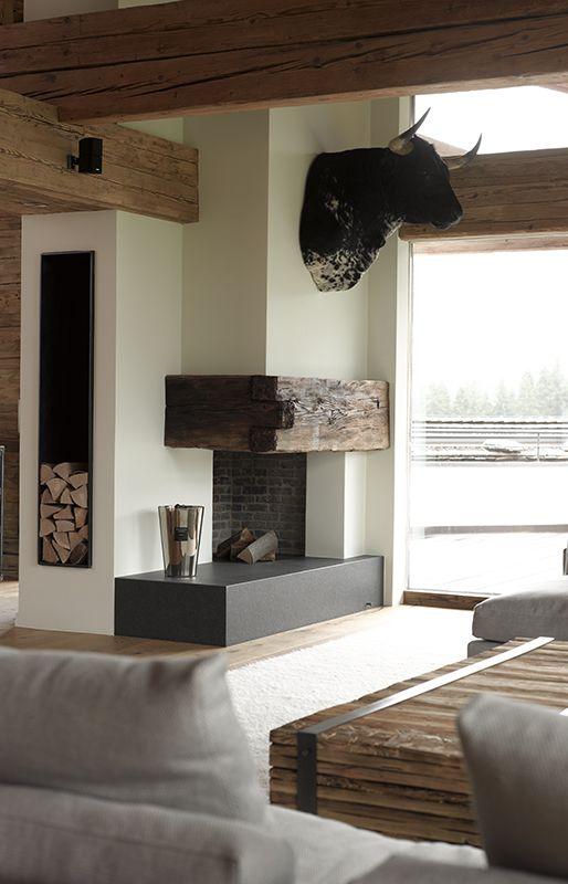 Erstaunliche winter chalets f r diese saison for Haus rustikal modern