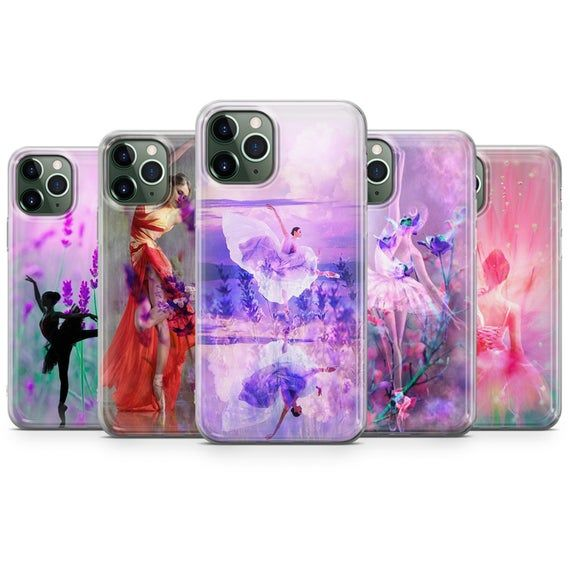 Ballerina Dancer Phone Case cute Cover for Samsung A20/A30 S8 S8+ S9, S9+ Perfect Gift for iPhone XS 11 pro Max, 7,8 & HUAWEI P30 models R16