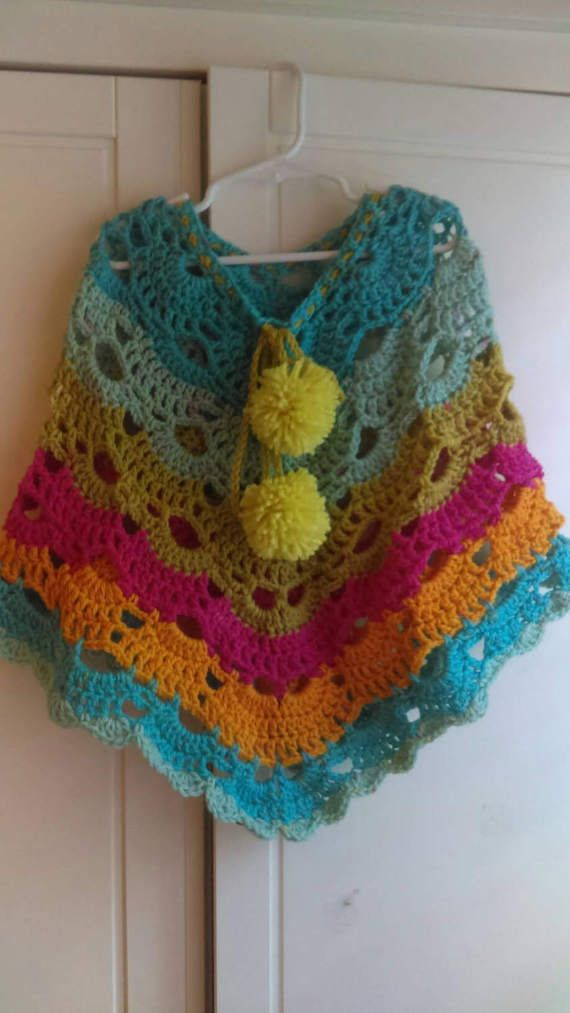 Check out this item in my Etsy shop https://www.etsy.com/listing/503032142/fun-girls-poncho-made-in-virus-stitch