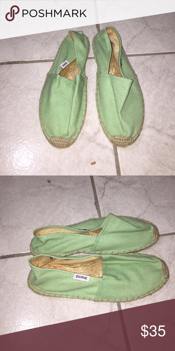 Soludos espadrilles Soludos espadrilles. Color: Mint. Size 7. No box. Soludos Shoes Espadrilles