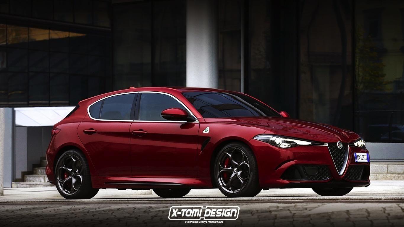 2019 Alfa Romeo Giulietta Successor Rendered With Giulia In 2019